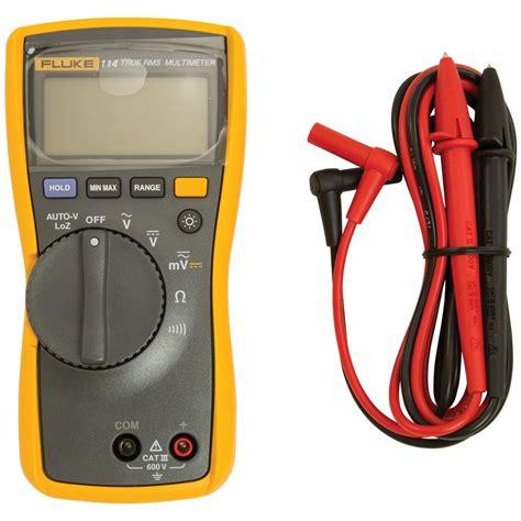 Multimeter Fluke 114 114 fluke 114 digital multimeter circuit testers