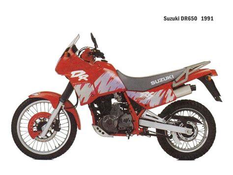 Suzuki Dr 650 Rs 1991 Suzuki Dr 650 Rs Moto Zombdrive