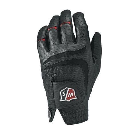 wilson staff grip  mens black golf glove