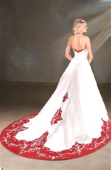 top red  white wedding dress fanzpixx