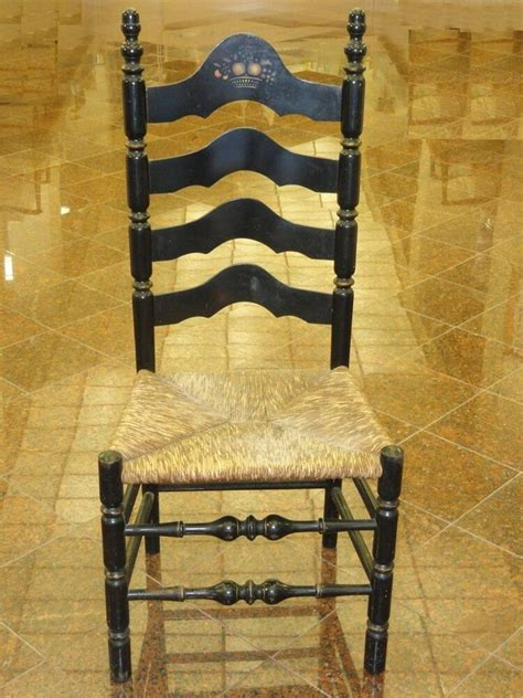 Ladder Back Seat Chairs - antique lancashire cheshire style ladder back chair w