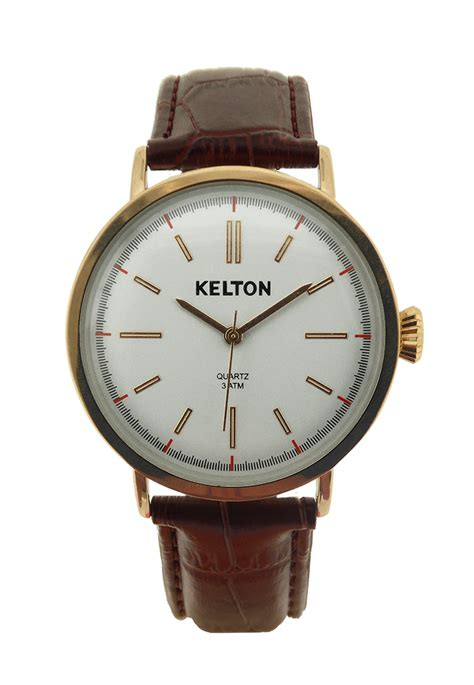 montre kelton metalic gold kelton