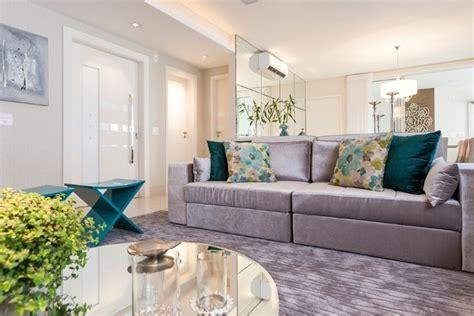 decorar sala sofa verde claro sof 225 cinza na decora 231 227 o da sala de estar casinha arrumada
