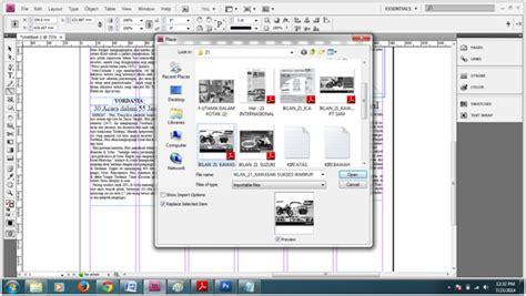 layout koran dengan adobe indesign membuat koran dengan menggunakan adobe indesign cs 3