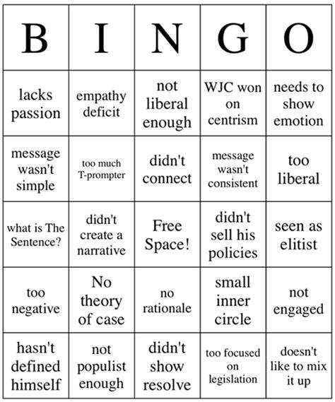 election night bingo neatorama