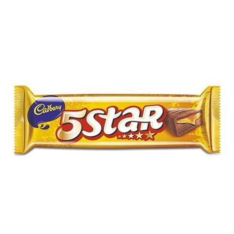 Top 5 Chocolate Bars by Cadbury 5 Chocolate Bar 20 5 Gm Buy At Best