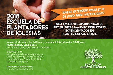 plantadores de iglesias escuela de plantadores de iglesias apostolic assembly
