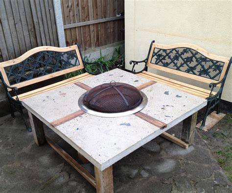 pit table diy diy gas pit table pit design ideas