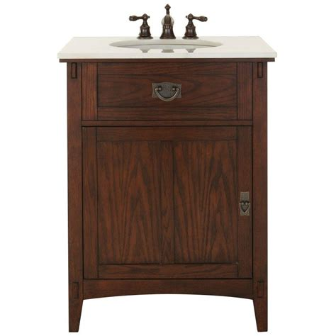 home decorators vanities home decorators collection artisan 26 in w vanity in dark