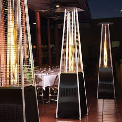 Garden Radiance Grp4000bk Dancing Flames Pyramid Outdoor Pyramid Patio Heater Reviews