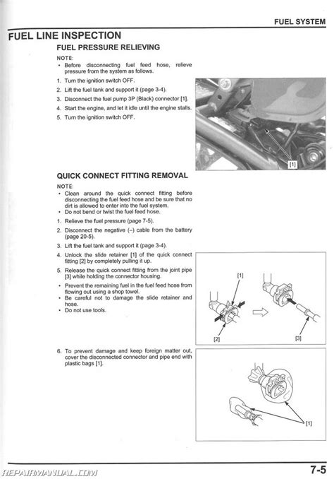 service manual 2014 2015 honda cbr650 f fa motorcycle service manual