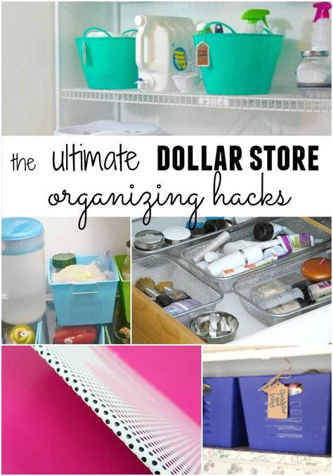 dollar store organization hacks brilliant dollar store organizing hacks for every room in
