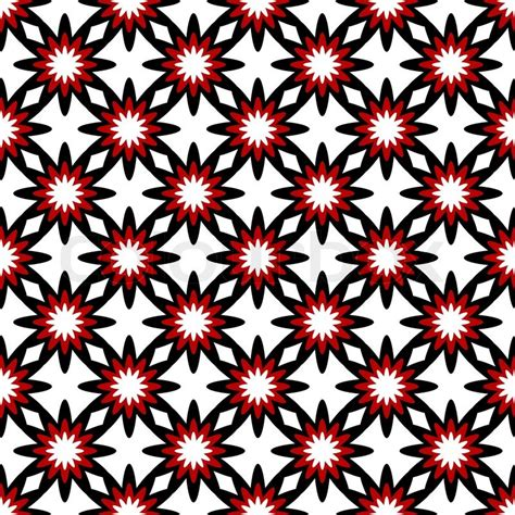 red white pattern vector white and black red seamless floral pattern vector