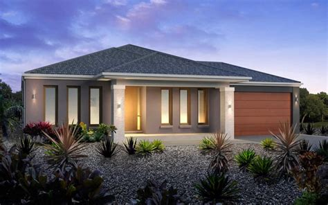 metricon home designs the santorini kingston facade
