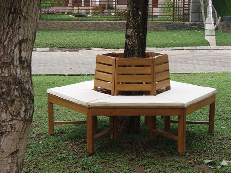 tree bench seat hardwood tree seat