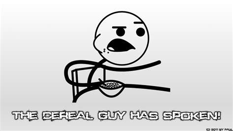 Efg Meme - cereal guy efg forever alone okay pedobear trollface
