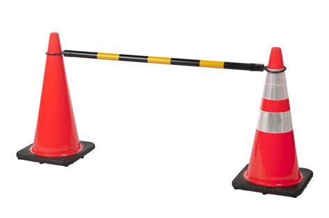 retractable cone bar flagging direct
