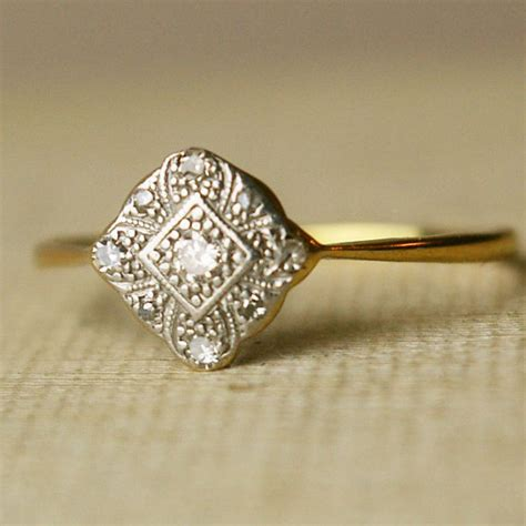 vintage engagement rings a cup of jo