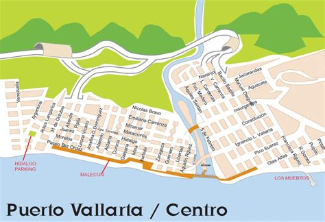 vallarta map of mexico walking tour vallarta vacation villas of mexico