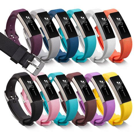 Fitbit Alta Hr Fitness Wristband Smartwatch Tracker Black L fitbit alta alta hr band secure wristband buckle bracelet fitness tracker ebay