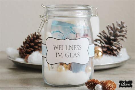 weihnachtsgeschenk kuchen im glas diy geschenke wellness im glas free print beautyressort