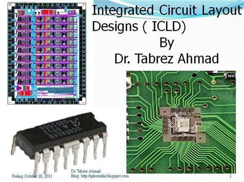 integrated circuit and layout design integrated circuit layout design authorstream