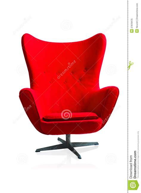 roter stuhl m bel moderner roter stuhl lizenzfreies stockfoto bild 27878475