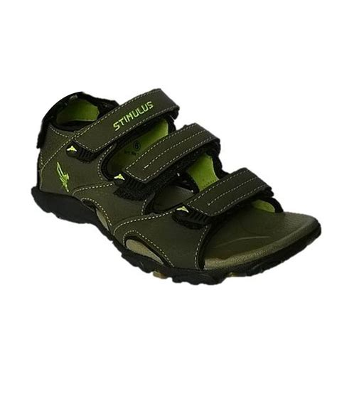paragon sandals paragon green synthetic leather floater sandals buy