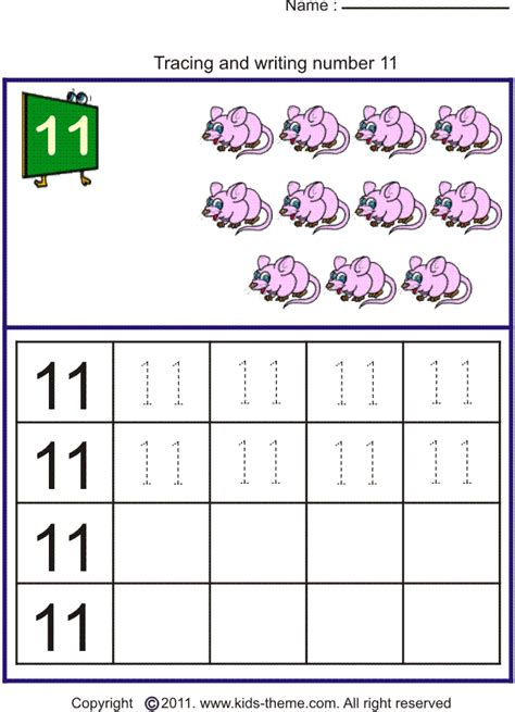 free printable math worksheets for numbers 11 20 number tracing worksheets 11 20 worksheets for all