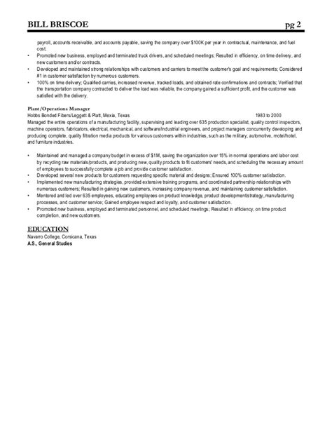 general resume 187 bill gates resume cover letter and resume sles