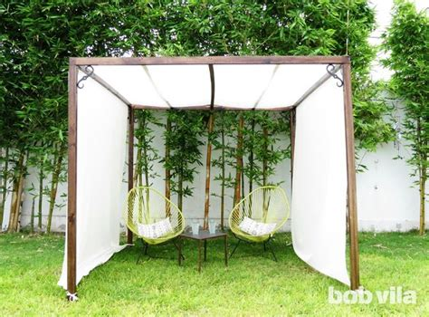 Backyard Canopy Diy by 25 Best Ideas About Deck Canopy On Backyard