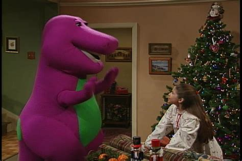 barney s night before christmas barney wiki