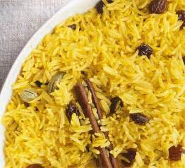 Mediterranean Style Rice - yellow rice bbc good food