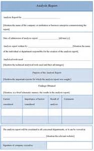 Report Analysis Template Analytical Report Template Bing Images