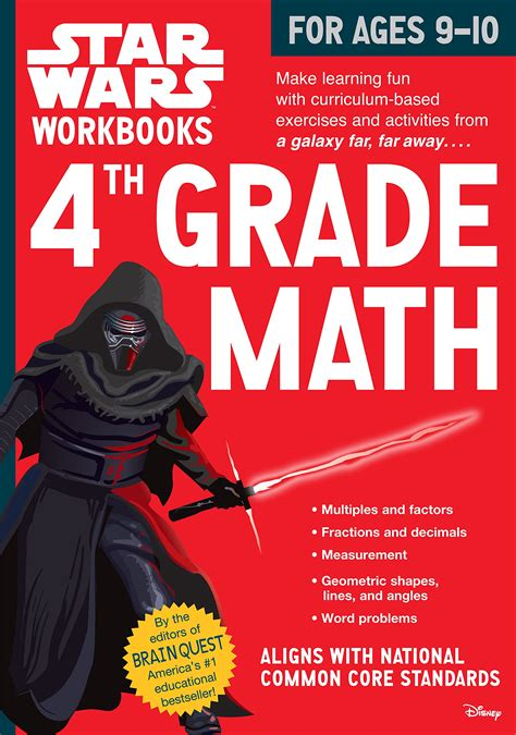 datenbank wars workbook 4th grade math jedi