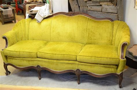 vintage velvet sofa velvet sofas pinterest