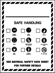 safe handling whmis workplace hazard symbols safety
