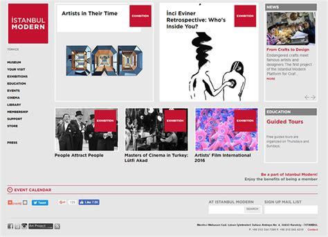 art design inspiration sites 100 museum art gallery websites for design inspiration