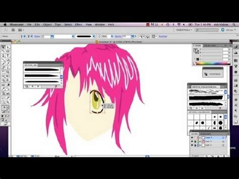 tutorial adobe illustrator cs3 youtube anime character tutorial for illustrator cs3 adobe