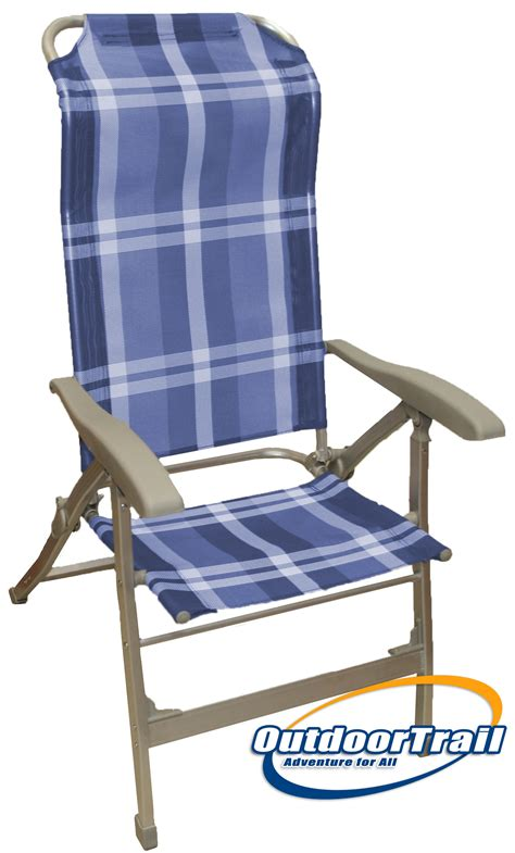 Caravan Recliner Chairs by Lightweight Alloy Recliner Folding Cing Caravan Chair