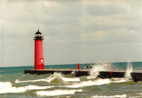 al s lighthouses wisconsin kenosha pierhead lighthouse