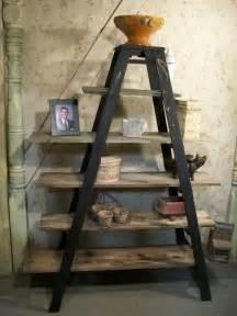decorative ladder shelves decorative ladder shelf a frame wooden shelf