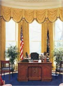Drapery In The Oval Office