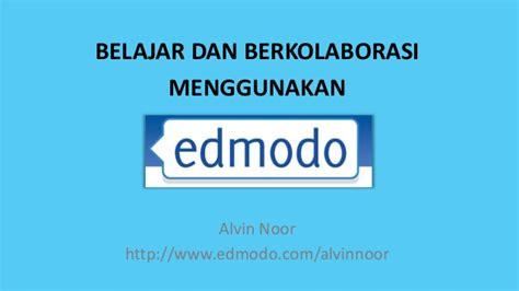 buku tutorial edmodo belajar dan berkolaborasi menggunakan edmodo