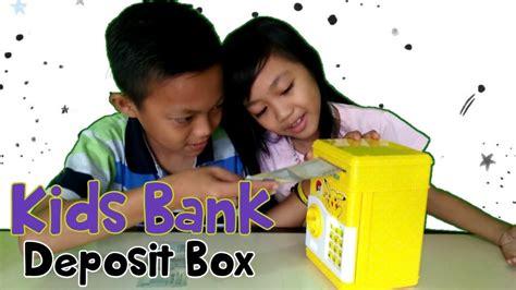 Celengan Deposit Box mainan anak perempuan quot celengan bank deposit box