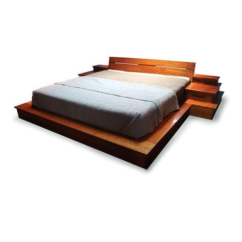 custom platform bed hand crafted platform bed by mark love furniture