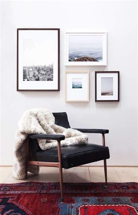 Home Interior Frames 31 Modern Photo Gallery Wall Ideas Shelterness