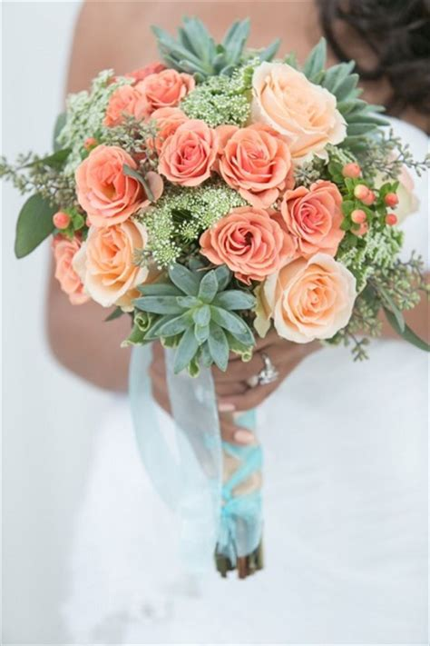 Wedding Bouquet Mint Green by Wedding Flower Glossary Illustrated