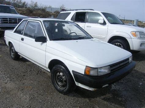1989 Toyota Tercel Toyota Tercel 1 5l 4 Used Of The 1989 At 89506 Nv Reno