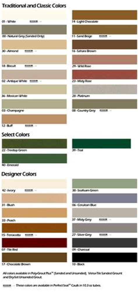 tec grout color chart mapei grout color chart for the home